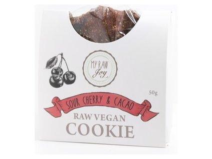 "My Raw Joy - ""Superfood"" sušenka - Višeň & Kakao, 50g  *CZ-BIO-001 certifikát"