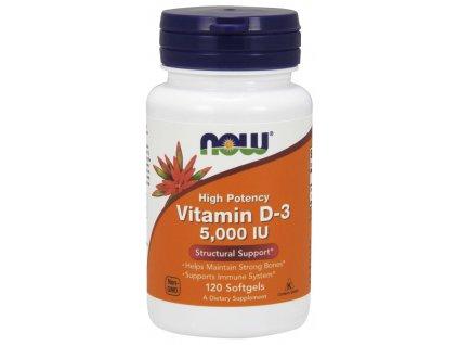Vitamin D 3, 5000IU