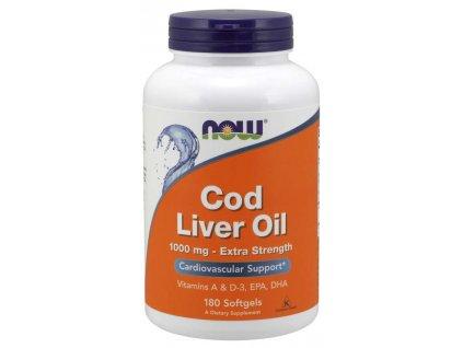 Cod liver oil, 180 caps
