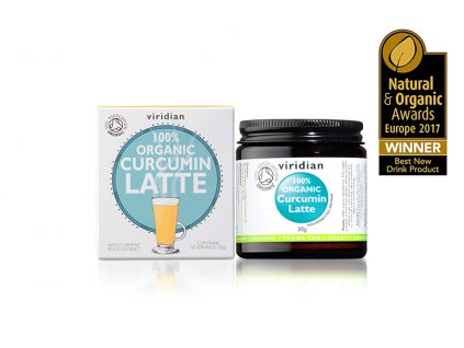 1027 913 Organic Curcumin Latte with Award Winner logo img