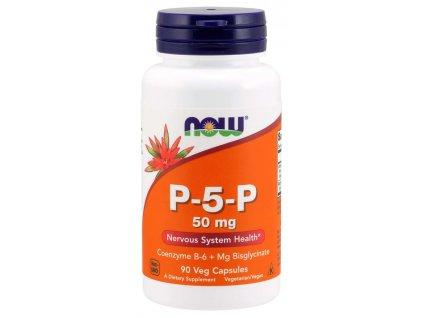 NOW Vitamin B6 P 5 P, 50mg, 90 kapslí