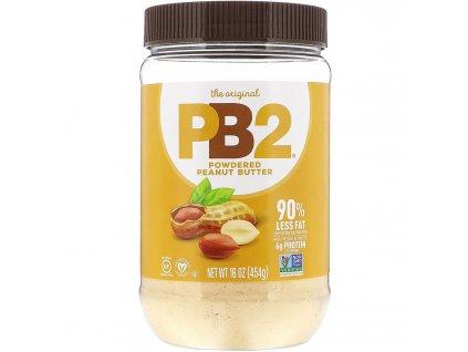 PB2 Foods Arašídové máslo v prášku 454g