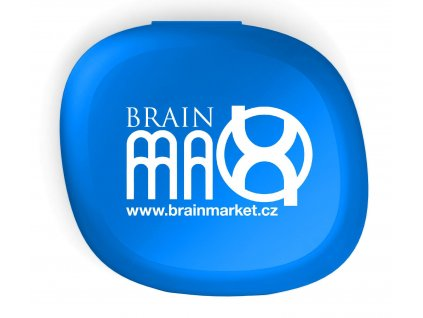 BrainMax pillbox krabička na doplňky stravy