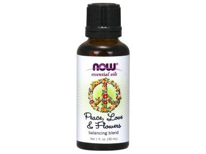 Peace, love, flowers oil