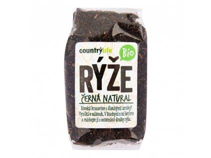 CountryLife - Rýže černá natural BIO, 500g