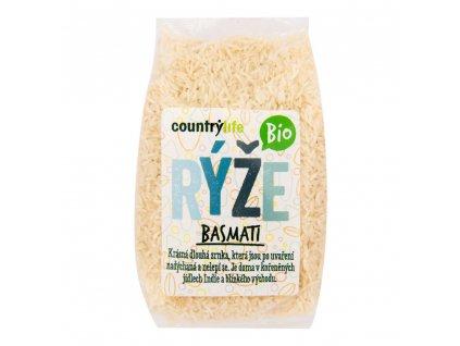 CountryLife - Rýže basmati BIO, 1kg