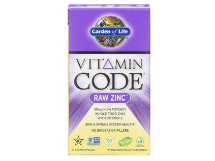 Garden of Life, Vitamin Code, RAW Zinc, 60