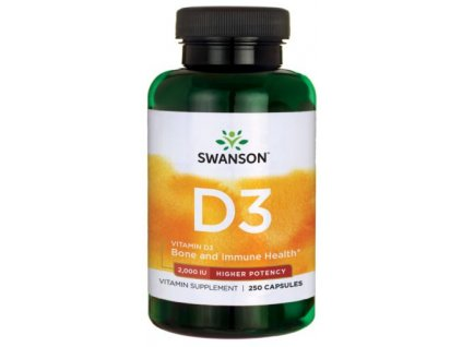 vitamin d3 2000 iu higher potency 250 caps 1 g