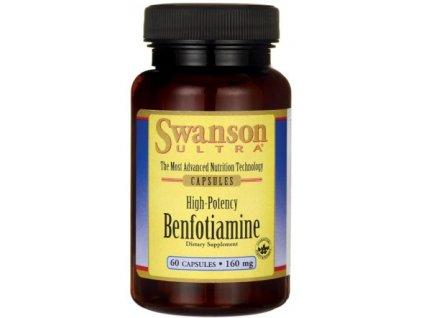 benfotiamine 160mg 60 capsules 1 g