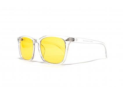 BrainMarket brýle blokující 80% modrého světla, Transparent