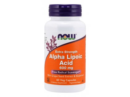 Alpha lipoic acid with grape seed