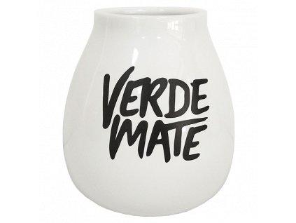 eng pl Gourd ceramic white Verde Mate 350ml 6687 1
