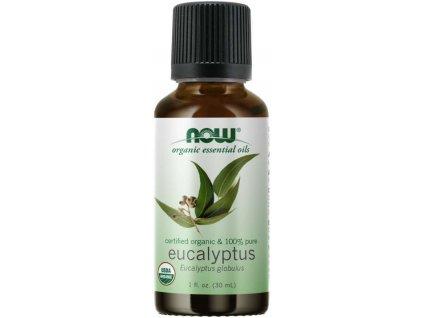 NOW Essential Oil, Eucalyptus oil (éterický eukalyptový olej), 30 ml
