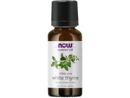 NOW Essential Oil, White Thyme oil (éterický olej bílý tymián), 30 ml