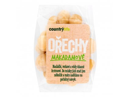 CountryLife - Makadamové ořechy, 80g