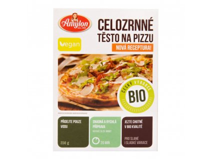 Amylon Pizza celozrnná BIO – 250 g  *CZ-BIO-001 certifikát