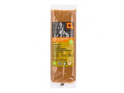 GIROLOMONI -  špagety celozrnné semolinové 500 g BIO  *CZ-BIO-001 certifikát