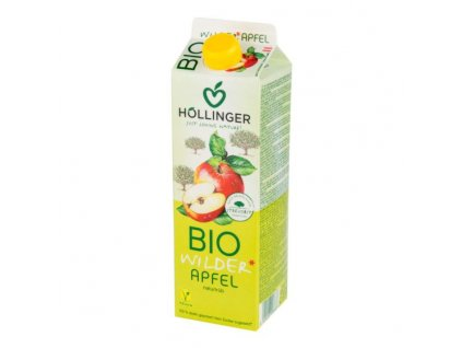 Hollinger - Džus jablko BIO 1 l  *CZ-BIO-001 certifikát