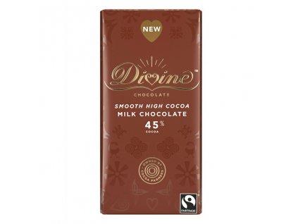 Divine mlecna cokolada Ghana 45% 90g