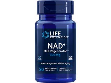 Life Extension NAD+ (NIAGEN®) Cell Regenerator, nikotinamid ribosid 300 mg, 30 rostlinných kapslí