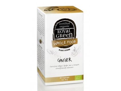 Royal green ginger zázvor bio