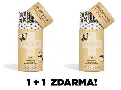 PATCH Bambusové náplasti s kokosovým olejem pro děti, 25 ks 1+1 ZDARMA