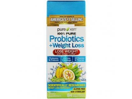 Purely Inspired Probiotics + Weight Loss, (probiotika + podpora hubnutí), 84 rostlinných kapslí