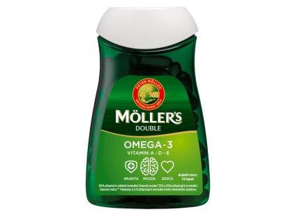 Möller's - Omega 3 Double, 112 kapslí