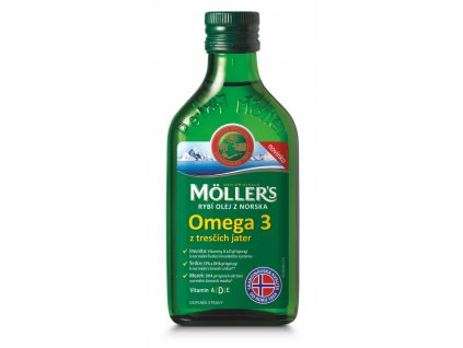 Möller's - Omega 3 Natur olej, 250 ml