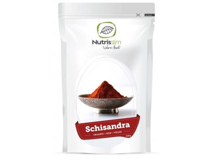 schizandra powder nutrisslim superfood organic vegan raw