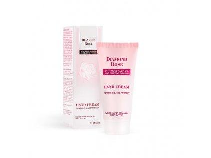 Diamond Rose - Omlazující krém na ruce, 50 ml