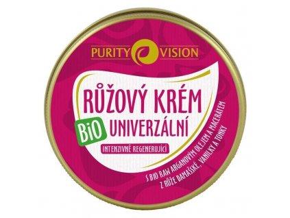 Purity Vision - Bio Růžový krém univerzální, 70 ml
