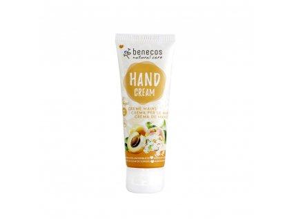 Benecos - Krém na ruce meruňka a bezinkový květ, 75 ml