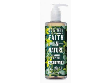 Faith in Nature - Antibakteriální tekuté mýdlo Mořská řasa & Citrus , 400 ml
