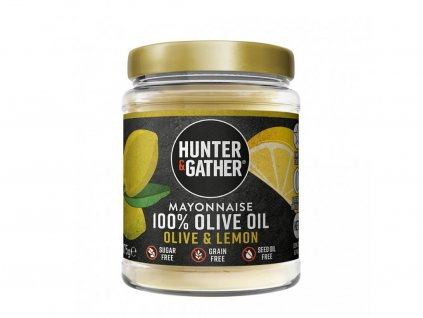 2682 keto majoneza z olivoveho oleje s citronovou prichuti limitovana edice hunter gather