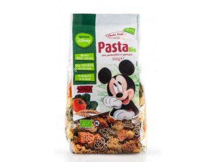 Dalla Costa - Těstoviny Disney Mickey tricolore BIO, 300 g  CZ-BIO-001 certifikát