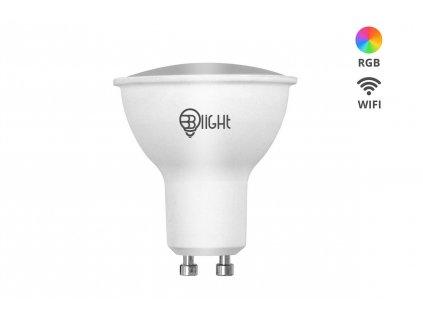 Chytrá žárovka Blight LED, závit GU10, 5,5 W, WiFi, APP, stmívatelná, barevná