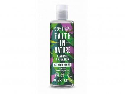 Faith in Nature - Kondicionér Levandule, 100 ml