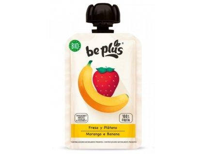 Be Plus - BIO kapsička jahody a banán, 100 g
