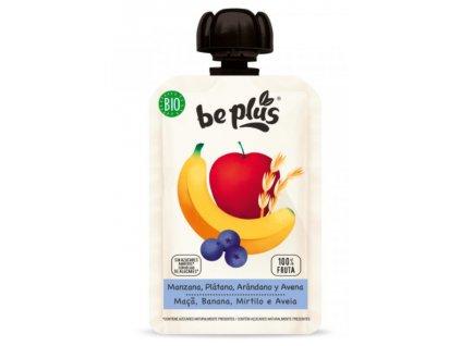 Be Plus - BIO kapsička jablko, banán, borůvky a oves, 100 g