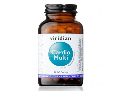 Cardio Multi 60 cps viridian