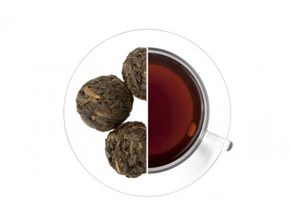 pu erh dragon pearls pu erh draci perly 1 kg