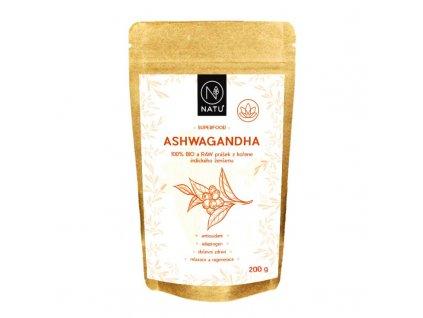 ashwagandha bio prasek 200g
