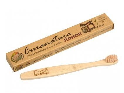 Dětský bambusový zubní kartáček Junior