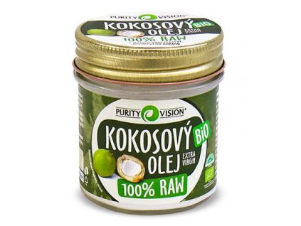 6FAB6580 9342 489B 9734 D233B05E6989 purity vision raw kokosovy olej 120ml