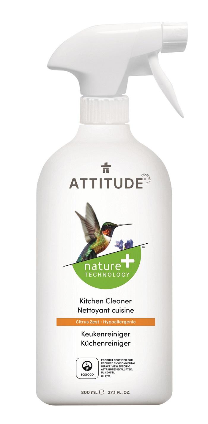 Attitude - Čistič na kuchyně s vůní citronové kůry, 800ml