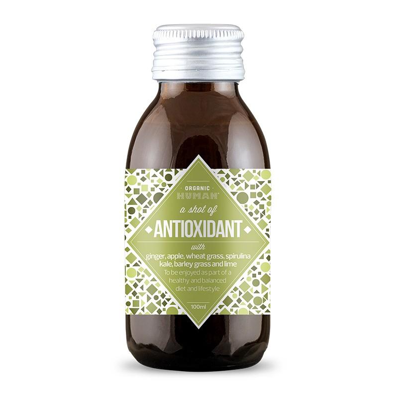NATU - Antioxidant shot BIO, 100ml DK-OKO-100 certifikát