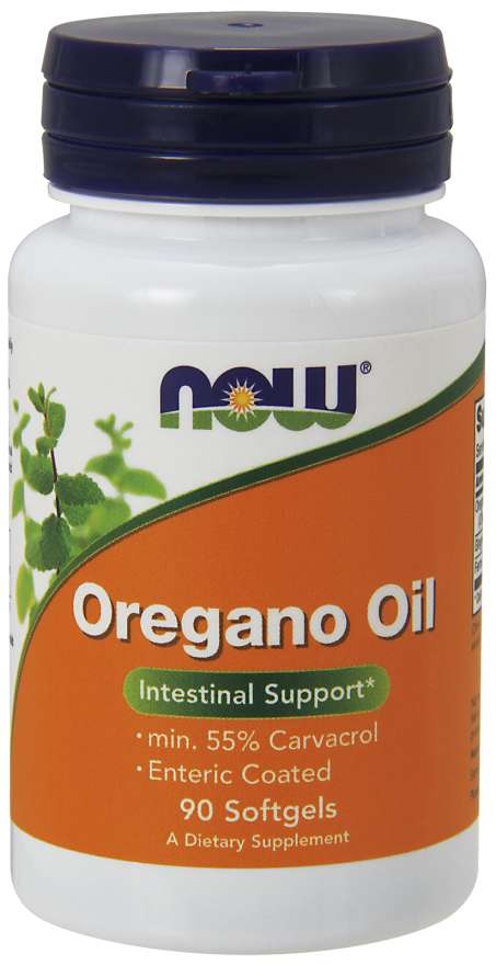 NOW® Foods NOW Oregano Oil (oreganový olej), 90 softgel kapslí