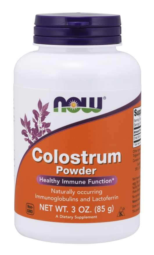 NOW® Foods NOW Colostrum (kolostrum) prášek, 85 g