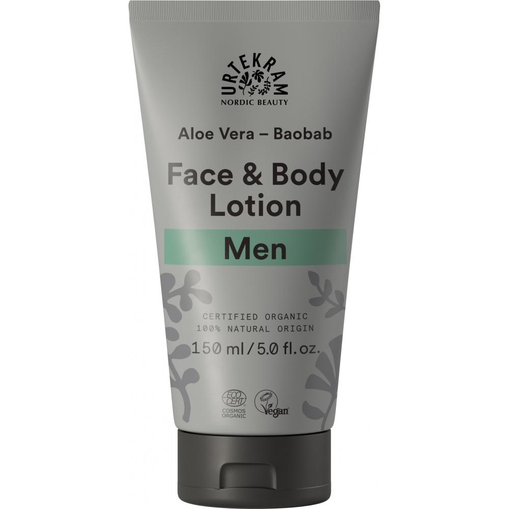 URTEKRAM, Krém na tělo i obličej MEN 150ml BIO